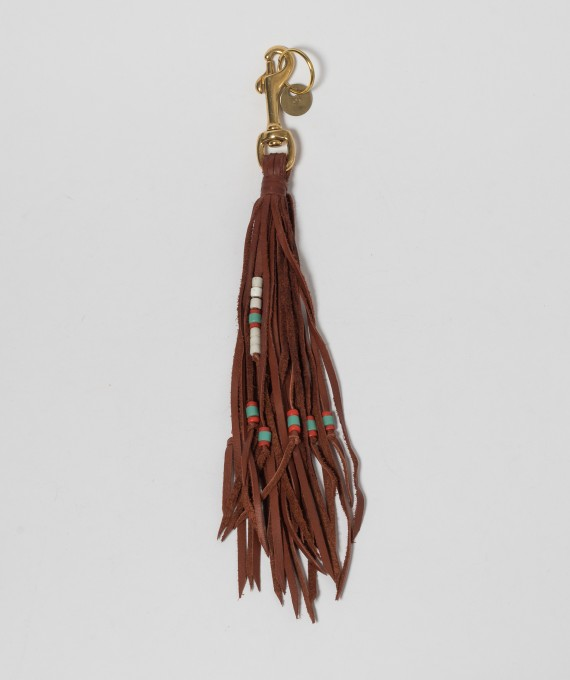 Leather Tassel Cognac RTH