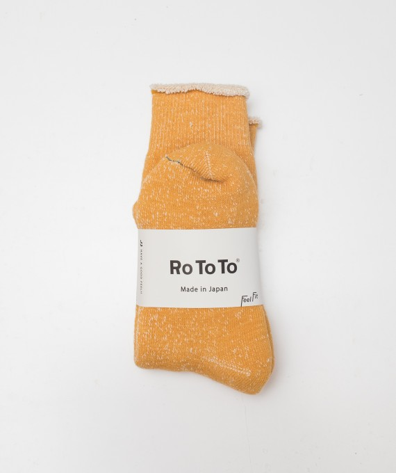 Rototo socks yellow