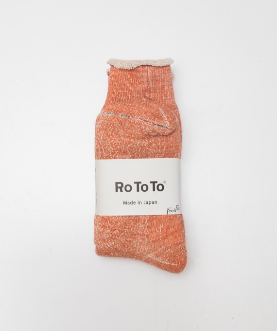 Rototo socks orange