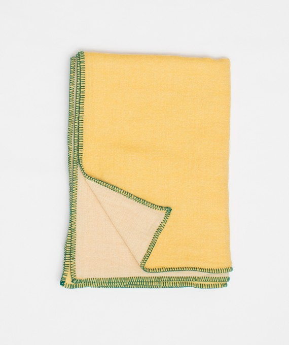 Oversize Scarf Yellow