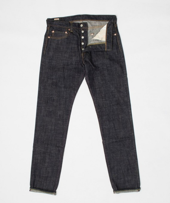 16 Oz Texture Denim tight tapered