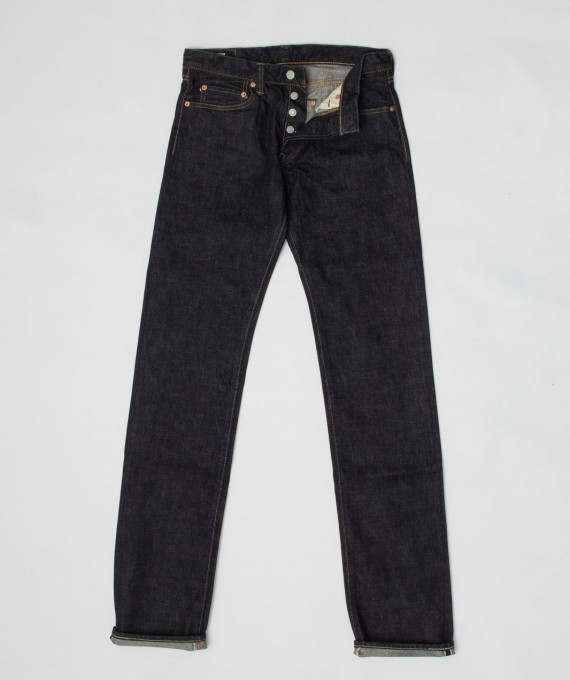 15,7oz Zimbabwe unsanforized tight straight