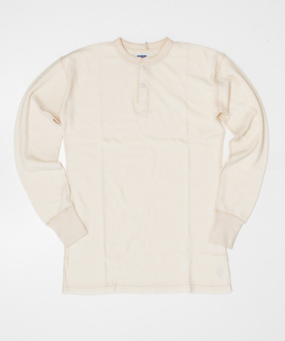 Henley Thermal off White Warehouse & Co.