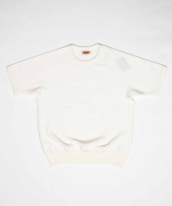 Sweatshirt S/S White The Real McCoy's