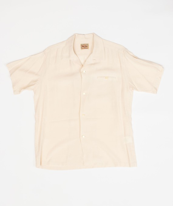 Rayon Shirt Off White