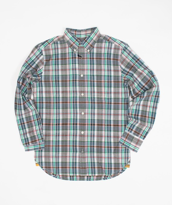 Madras Shirt Grey