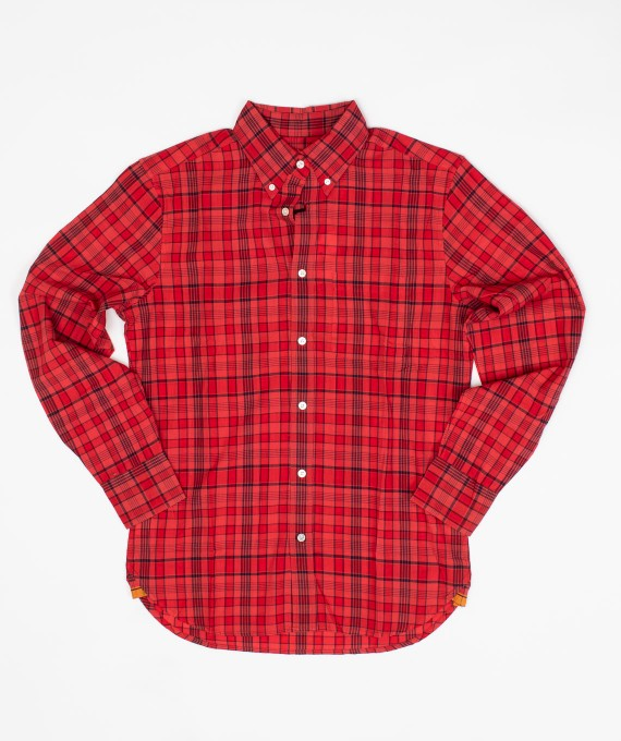 Madras Shirt Red