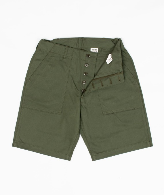 Sateen Utility Shorts The Real McCoy's