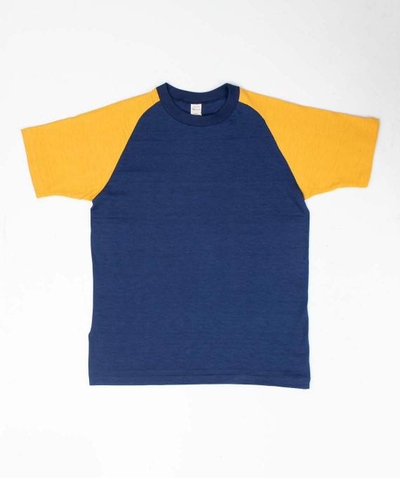 Raglan Two Tone Navy/Gold
