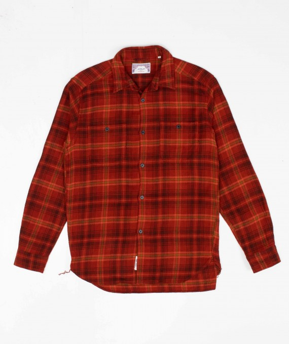 New Casual Shirt Red Check