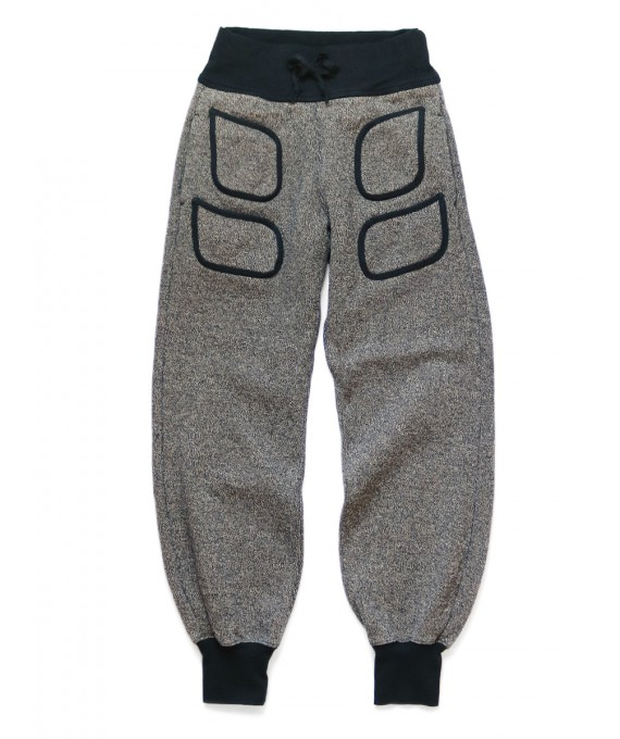 BEACH Knit Pants Charcoal Kapital