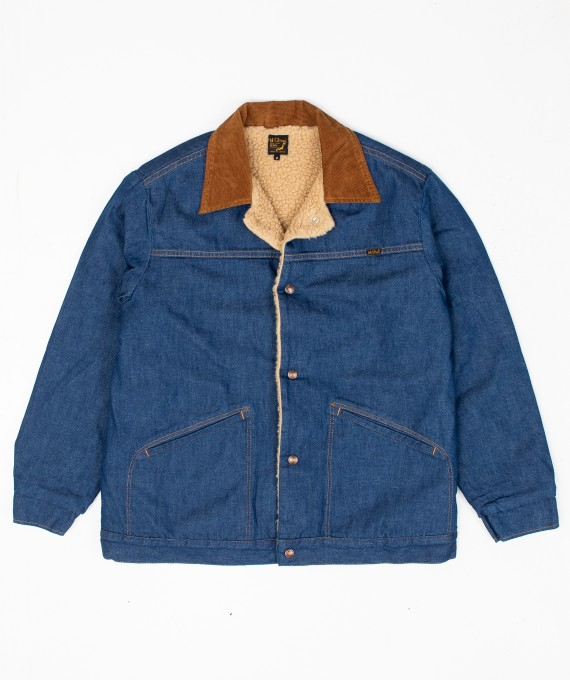 Pile Denim Jacket orSlow