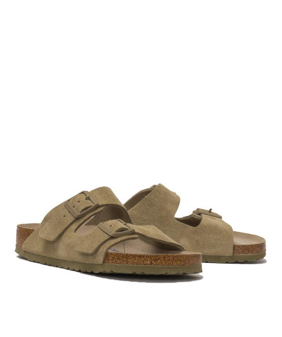 Arizona Suede Faded khaki Birkenstock