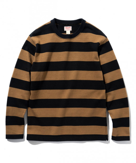 Buco Jersey Stripe Brown The Real McCoy's