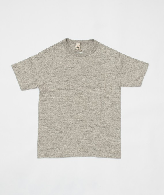 Pocket tee grey warehouse