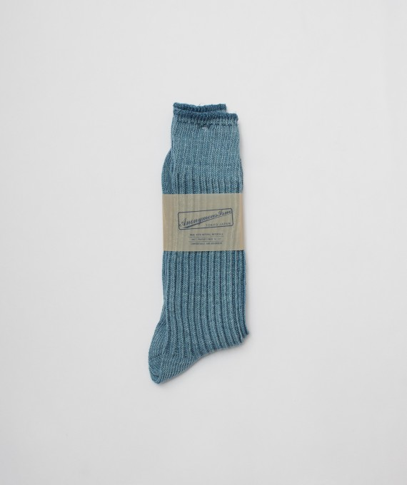 Urtra light indigo socks