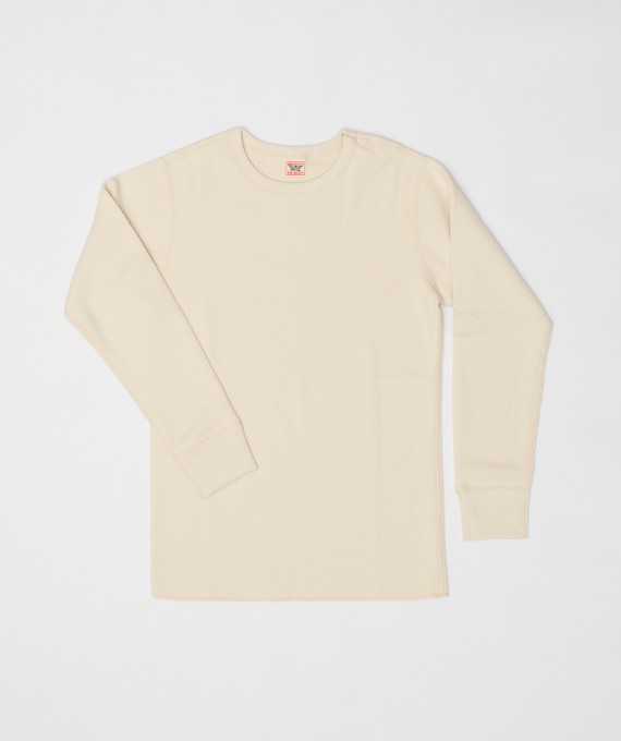 MILITARY THERMAL SHIRT IVORY