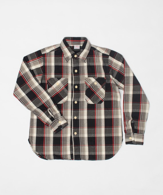 Flannel Shirt Black
